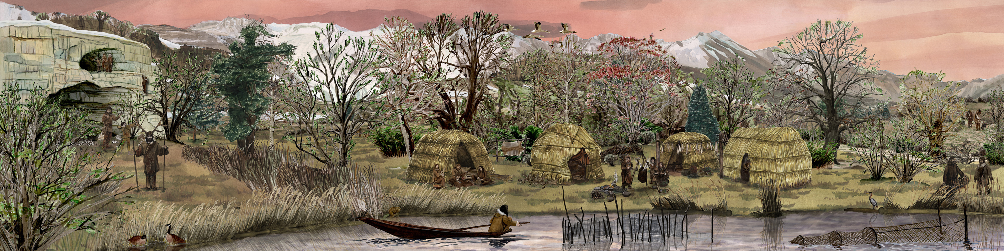 Mesolithikum, mesolithic age