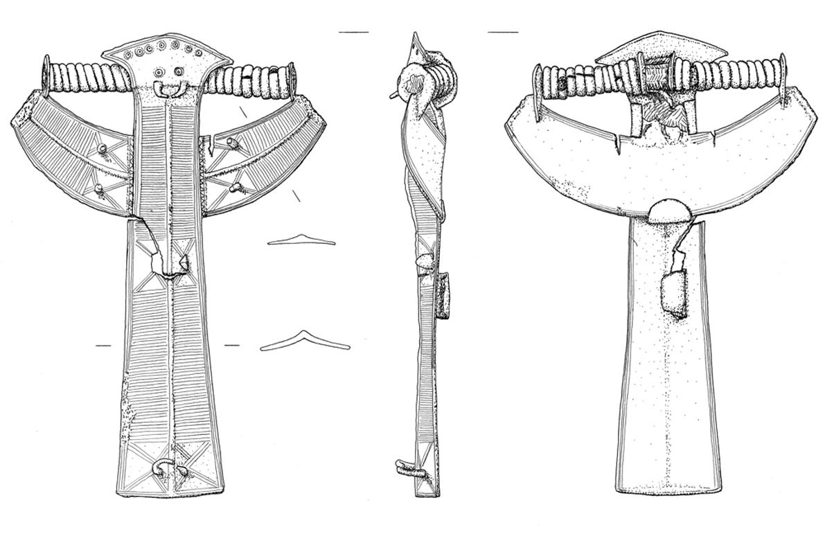 archäologische Zeichnung