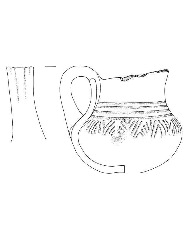 Troja Keramik, Troy pottery, archäologische Zeichnung, archaeological illustration