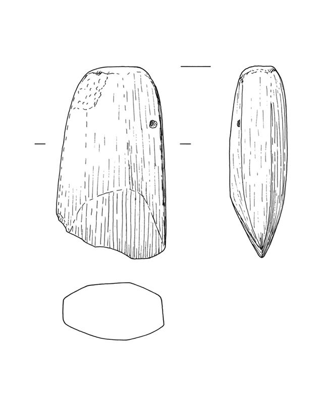 Steinbeil, Stone hatchet