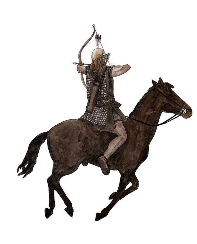 Bronzezeit, Reiter, Bronze Age, rider