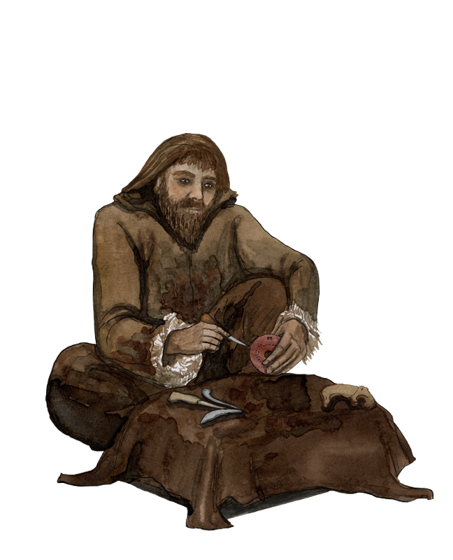 Mesolithikum, Künstler, mesolithic age, artist