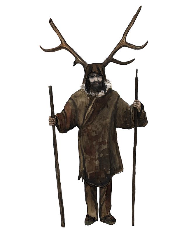 Mesolithikum, Schamane, mesolithic age, shaman