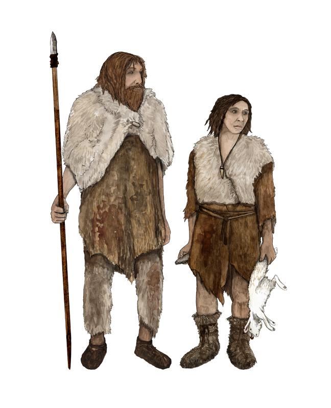 Paläolithikum, Neandertaler, stone age, Neanderthal man