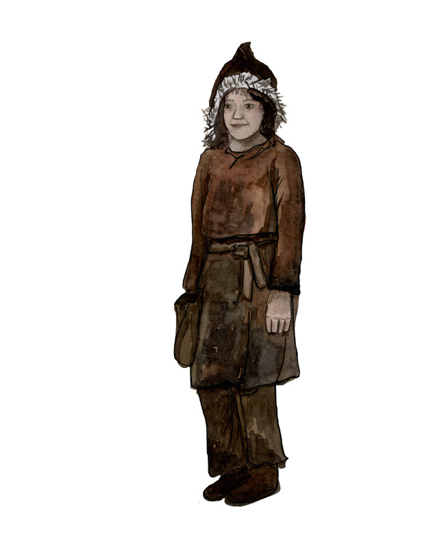 Neolithikum Kind, Neolithic period child