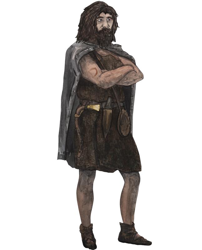Bronzezeit Mann, Bronze Age man