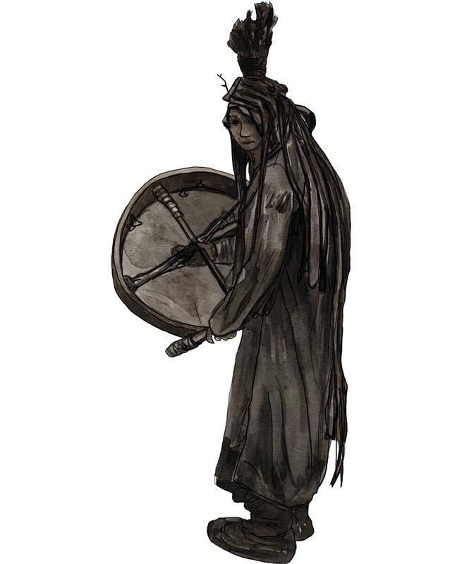 Neolithikum Schamanin, Neolithic period shaman